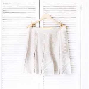 CHANEL Fantasy Tweed Car Wash Pleated Skirt
